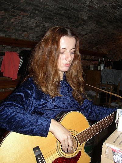 Janka Kúdelová v plzenskom Hi-Fi klube